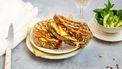 Croque Poisson (tosti met zalm en kaas)