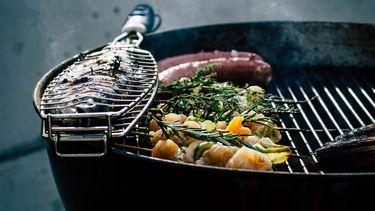 Vis grillen barbecue