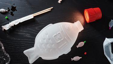 Lamp sojasaus verpakking