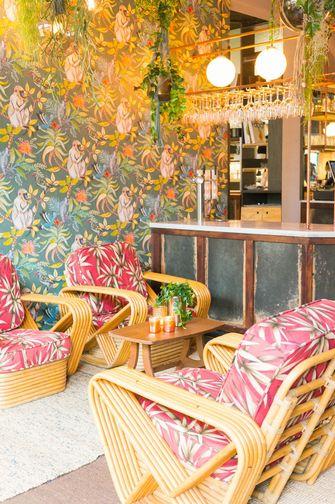 Interieur van Café Cliché