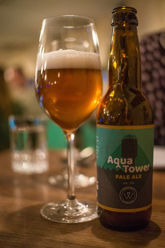 Aqua Tower: het eigen bier van WT Urban Kitchen