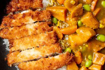 Japanse curry met kip