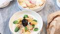 groenten in een zoutkorst Sukade