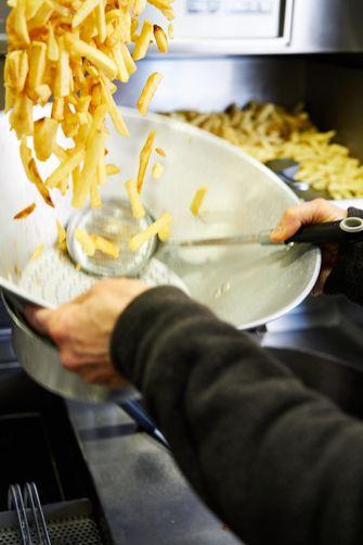 Frites bakken
