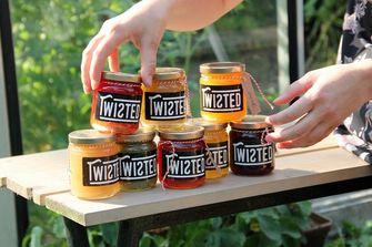 food waste / twisted jams