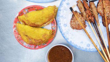 Vietnamees streetfood met imperial rolls