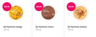 chocolade-hummus Albert Heijn