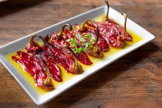 Piquillo peppers bij Sagardi