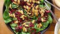 salade met amandel