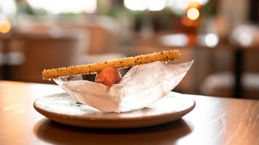 Rabarber bij Restaurant vermeer