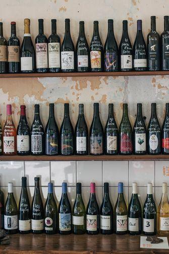 Natuurwijnen bij wijnbar en café Binnenvisser