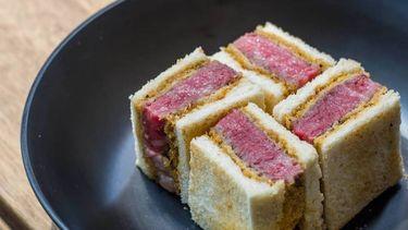 Katsu sandwich bij ZOMG in Melbourne
