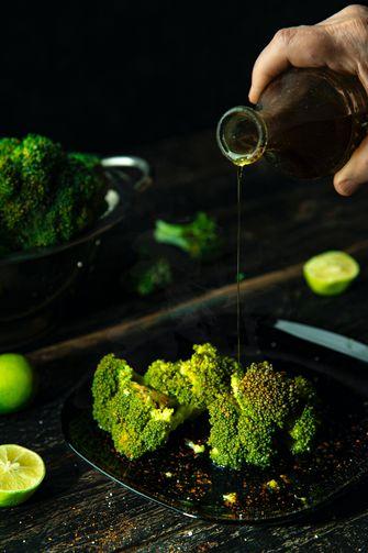 Broccoli / gestoomde groenten