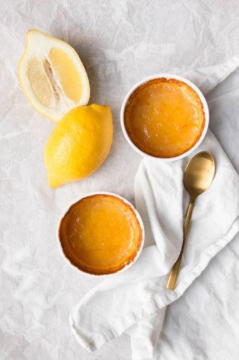gebakken citroenpuddinkjes