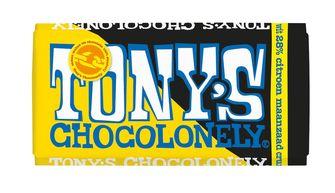 Tony's Chocolonely wit citroen maanzaad