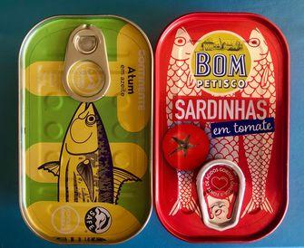 Blikjes sardines