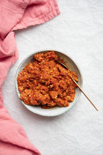 Rode currypasta recept