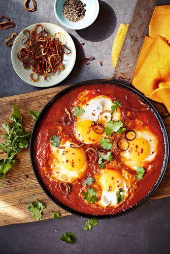 eieren in chilisambal
