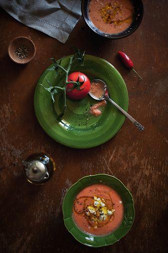 Gazpacho maken recept