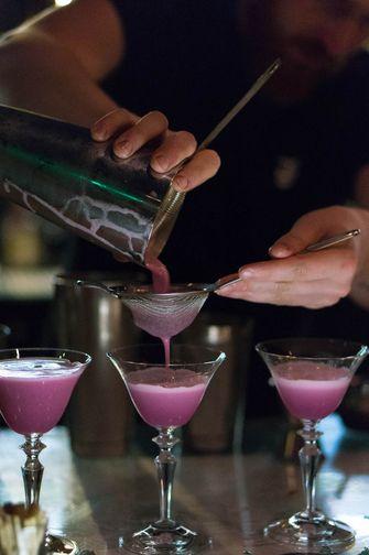 Cocktails van food waste bij Bluespoon
