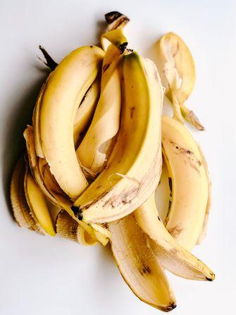 Bananenschillen