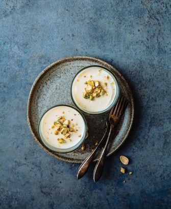 Makkelijke toetjes: citroentoetjes met vlierbloesem