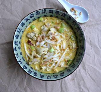 Recept voor pittige curry-noedelsoep
