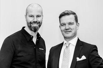 Chef Sidney Schutte en Sascha Speckmeijer