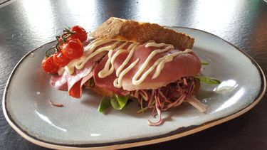 Sandwich caffe Milo amsterdam