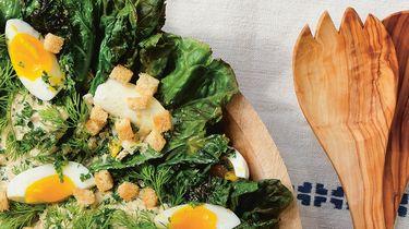 BBQ caesar salad