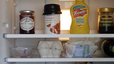 koelkast waar je plasticfolie in zou moeten bewaren