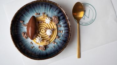 Chocolademousse en lemon curd bij Fico en WT Urban Kitchen