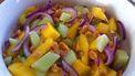 mango salade met komkommer