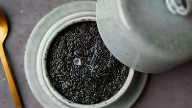 Boter van zwarte sesam