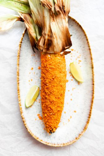 Maiskolven met Doritos korst