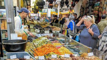 exotische gerechten Beverwijkse Bazaar olijvenmarkt