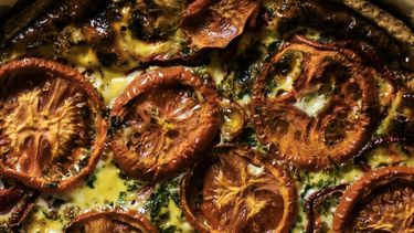 zelfgemaakte zongedroogde tomaatjes
