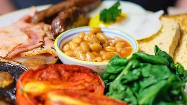 full English breakfast als voorbeeld van uitgebreide ontbijtjes