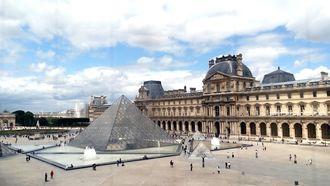 Restaurants bij het Louvre
