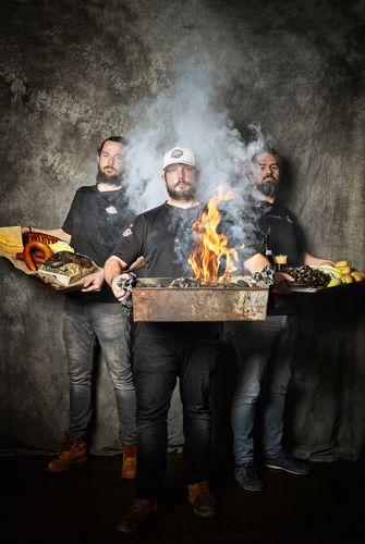 De chefs van Smokey Goodness