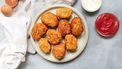 kip nuggets met appelketchup