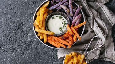 Afbeelding van friet uit de airfryer