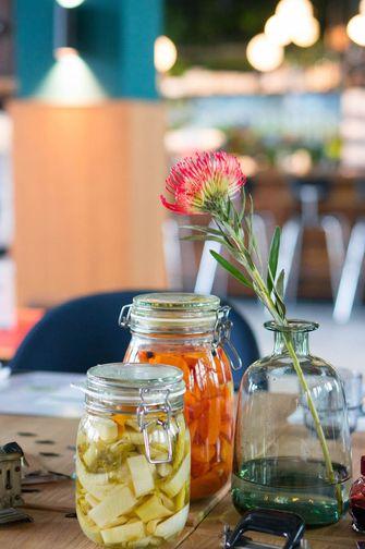 Bar Kantoor gefermenteerde groenten