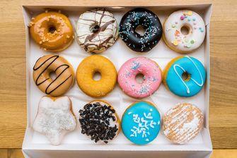 Dunkin' Donuts bezorgservice
