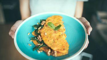 omelet in de magnetron