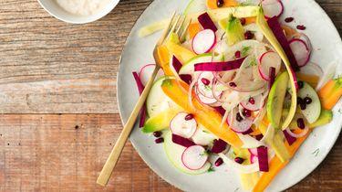 Afbeelding salade van rauwe groente