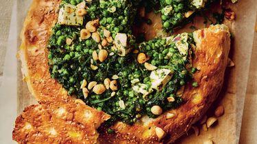 Gevuld Turks brood