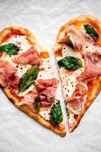 Lekker recept voor valentijn: pizza
