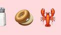 Food emoji's van de nieuwe Apple iOS update