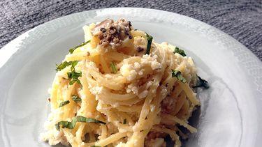 Spaghetti met truffel en bloemkool recepten met bloemkool